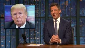 'Late Night': A Closer Look at Trump Attacking Trudeau