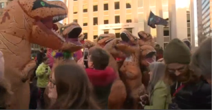 'T-Rex' Meetup Happens in Portland, Maine