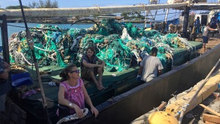 40 Tons of Fishing Nets Retrieved in Pacific Ocean Cleanup