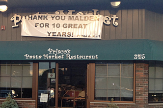 Prisco's Pasta Market Cafe in Malden Has Apparently Closed