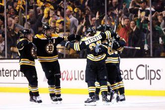 Bruins Roll Over Maple Leafs 5-1 in Postseason Opener