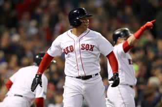 Devers to the Bench for Game 3, Nunez to Start at Third