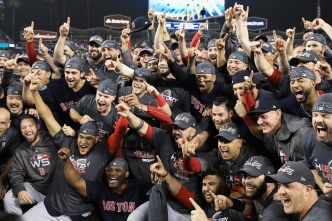 LISTEN: The World Champion Red Sox Have Their Own Rap Song