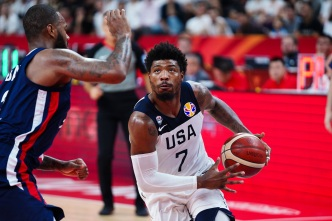 France Shocks Team USA in FIBA World Cup, 89-79