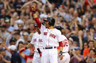 Red Sox Beat Astros 10-3 in Game 3, Avoid ALDS Sweep