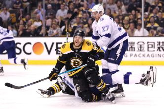 Bruins Fall to Lightning in Game 3
