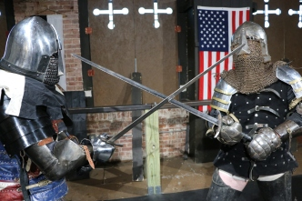 Modern Medieval Combat: 'It's Like Fight Club With Swords'