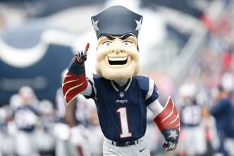Pats Mascot Plans to Attend Super Bowl Despite Adams Tackle