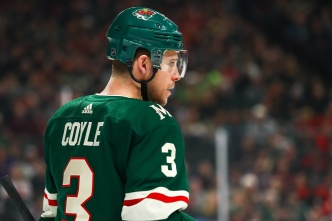 Bruins Acquire Coyle From Wild for Donato, 5th Round Pick