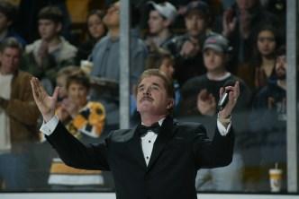 A Goodbye to Bruins Anthem Singer Rene Rancourt