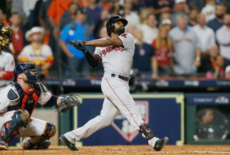 Jackie Bradley Jr. Helps Red Sox Slam Astros in ALCS Game 3