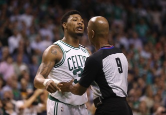 Celtics' Marcus Smart Has Been Unflappable Against Cavaliers