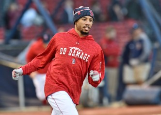 Betts Ready to Play Second Base If Called Upon