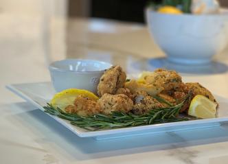 Hub Cooking Club: Rosemary Lemon Chicken Nuggets