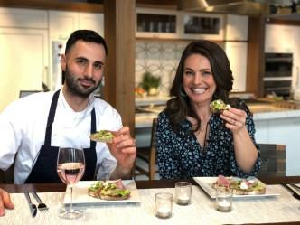 Hub Cooking Club: Bean, Fennel & Watermelon Radish Tartine