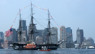 USS Constitution Celebrating its 221st Birthday