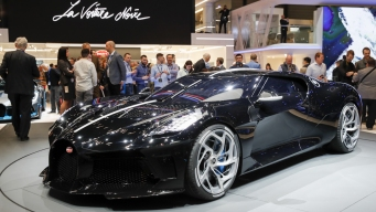Bugatti Unveils the Most Expensive New Car in the World