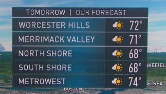 Game Forecast: Beautiful Weather for Patriots Game