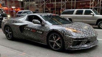 GM Teases 2020 Chevy Corvette C8