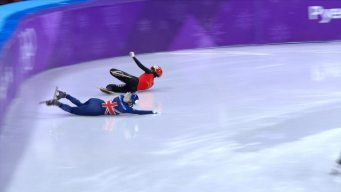 Elise Christie Injured in Women's 1500m Semifinals