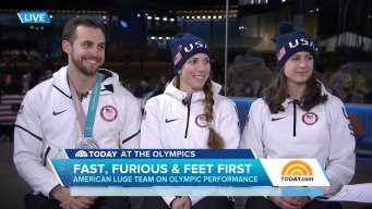 Team USA Luger Emily Sweeney Reflects on Painful Crash