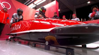 Phylicia George Makes History for Canada With Bobsled Run