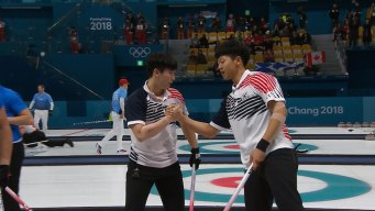 South Korea Holds on for Win Curling Win Over Italy