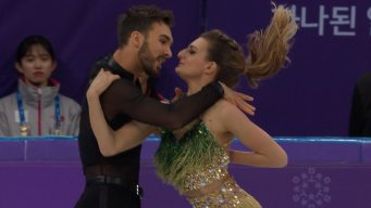 ICYMI: Wardrobe Malfunction Headlines Eventful Round of Ice Dancing