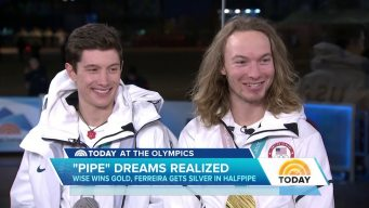 Wise, Ferreira Fed Off Each Other in 1-2 Halfpipe Finish