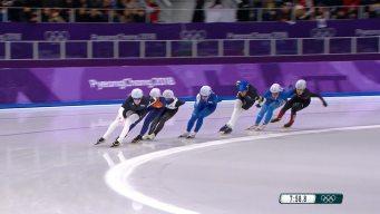 Watch the Full Women's Speed Skating Mass Start Race