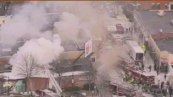 4-Alarm Fire Breaks Out at Codman Square