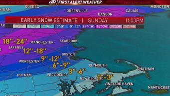 Weather Forecast: Light Snow Ahead of Major Storm