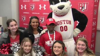 7-Year-Old Boy Signs Letter of Intent for BU Basketball