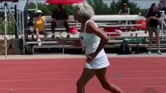 91-Year-Old Woman Runs World Record 400M Dash