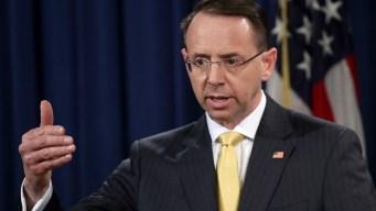 Rosenstein Details DOJ Efforts to Fight Election Meddling