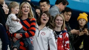 Ivanka Trump Cheers on Team USA at Olympics