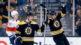 Bruins Regain First Place in East