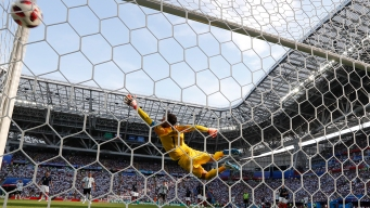 World Cup: France Beats Argentina; Uruguay Ousts Portugal