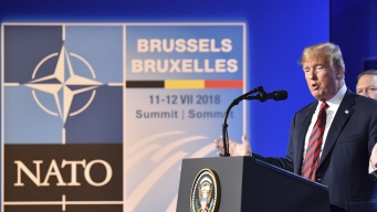 Trump Says NATO Nations Have Agreed to Up Defense Spending