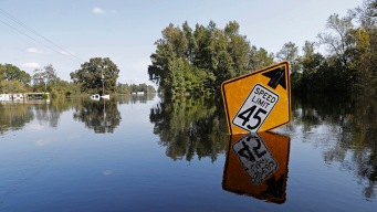 Travel Still Dangerous Amid Flooding in Parts North Carolina
