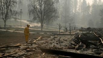 Light Rain Falling in N. California Could Hurt Search Effort
