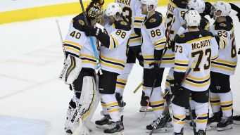 Bruins Shut Out Capitals to End 14-Game Skid Against Capitals