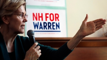 Facing Challenges, Warren Campaigns as 2020's Underdog