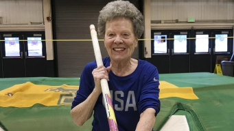 Pole Vaulter, 84, Sets Her Sights on More World Records