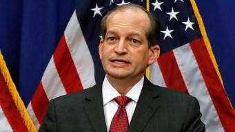 Facing Calls for Resignation, Acosta Defends Epstein Deal