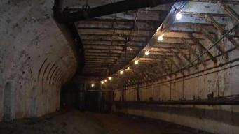 A Look Inside Abandoned Tunnels Below Boston City Hall Plaza