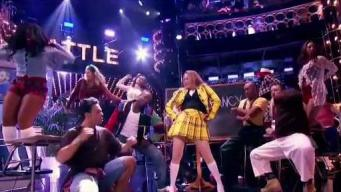 Alicia Silverstone is 'Fancy' on 'Lip Sync Battle'