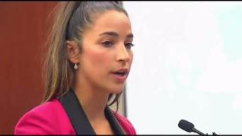 Aly Raisman Speaks at Sentencing