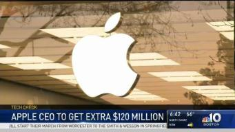 Apple CEO to Get Hefty Raise on Friday