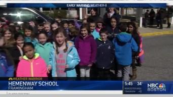 Weather Warrior Travels to Hemenway Elementary School